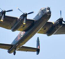 Lancaster bomber by Mike Higgins