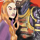 Jaime and Cersei by antdog13