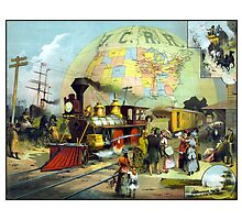 Transcontinental Railroad by warishellstore