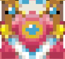Pixel Peach 32-bit Sticker