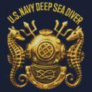 Navy Deep Sea Diver (sm) by Walter Colvin