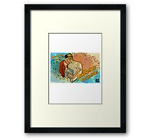 See You There! Framed Print