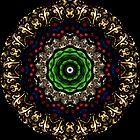 Stained Glass Window Kaleidoscope 290713 by fantasytripp