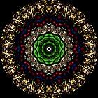 Stained Glass Window Kaleidoscope 290713 by fantasytripp