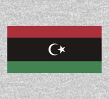 Libya Flag by cadellin