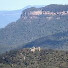 Echo Point lookout by SharronS