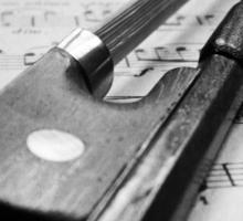 Violin Bow Sticker