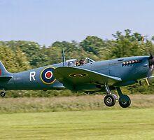 Spitfire PR.XI PL965/R G-MKXI landing by Colin Smedley
