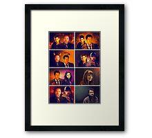 Supernatural - Card/Poster 001 Framed Print