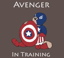 Avenger in Training (Captain America) by TesniJade