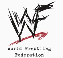 WWF Attitude Era Logo (Black) by SwiftWind