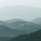 Moody Blue Hills by Isenwolf