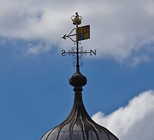 Weather Vane on Tower of London by Paul Collin