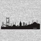 istanbul silhouette by Kafas Kackas