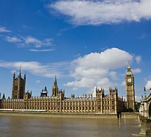 The Palace of Westminster by Paul Collin
