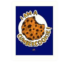 Cumbercookie of the Cumberbatch! Art Print