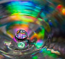 A Droplet of Colour by Brad Grove