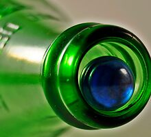 Bottle and Marble 2 by jbarnesphotos