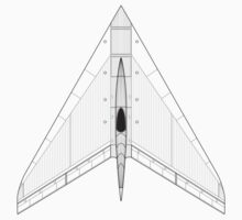 Horten Ho XIIIB Flying Wing Concept by zoidberg69