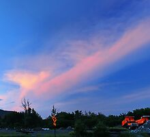 Sunset Across from the Town Garage by Nazareth