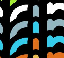 EDM (colours) Sticker