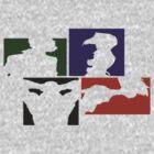 Cowboy Bebop Colored Panels by da4tner