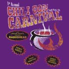 Chili Con Carnival - Dark Shirt - Distressed by HankTheTurtle