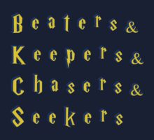 Beaters & Keepers & Chasers & Seekers by Happy Little Accidents
