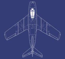 Mikoyan MiG-15 Blueprint by zoidberg69