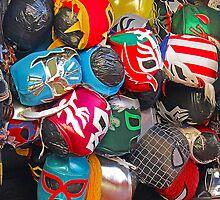 Mexican Masks by Lauren Steinhauer
