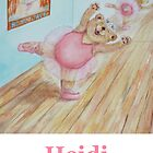 Heidi Ballet Bear by Monica Batiste