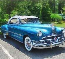 Blue 1951 Pontiac by Susan Savad