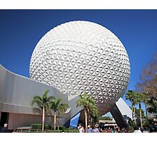Spaceship Earth in Daylight Photographic Print