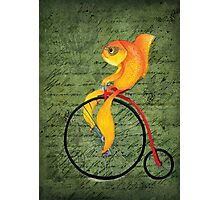 Penny Farthing Fish2 Photographic Print