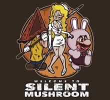 Silent Mushroom by mikehandyart