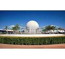 Spaceship Earth Landscape Photographic Print