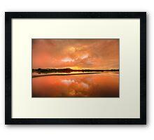 Orange Crush Framed Print
