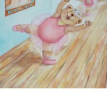 Amora Ballet Bear by Monica Batiste