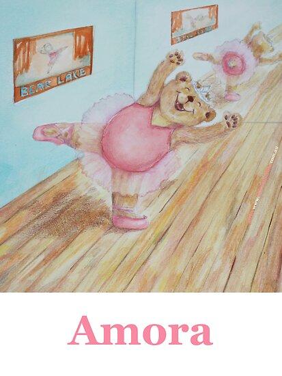 Amora Ballet Bear by Monica Batiste