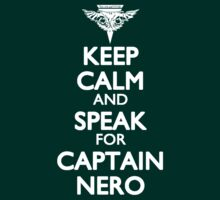 Speak for Captain Nero by ay-zup