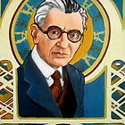 Kurt Gödel by Renee Bolinger