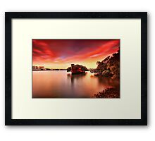 102 and counting Framed Print