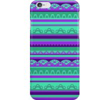 Lace pattern in bright colors iPhone Case/Skin