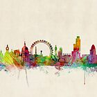 London Skyline by ArtPrints