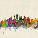 New York City Skyline by ArtPrints