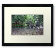 Crystal Creek ... Framed Print