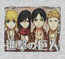 【1900+ views】Attack on Titan by Ruo7in