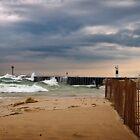 Stormy Beach by Roger  Swieringa