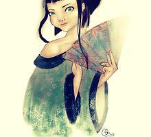 Modest Geisha in Kimono by Toryfox