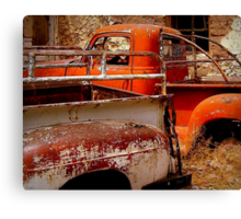 Rusty and Dusty Canvas Print